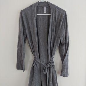 Light gray, lightweight robe L/XL